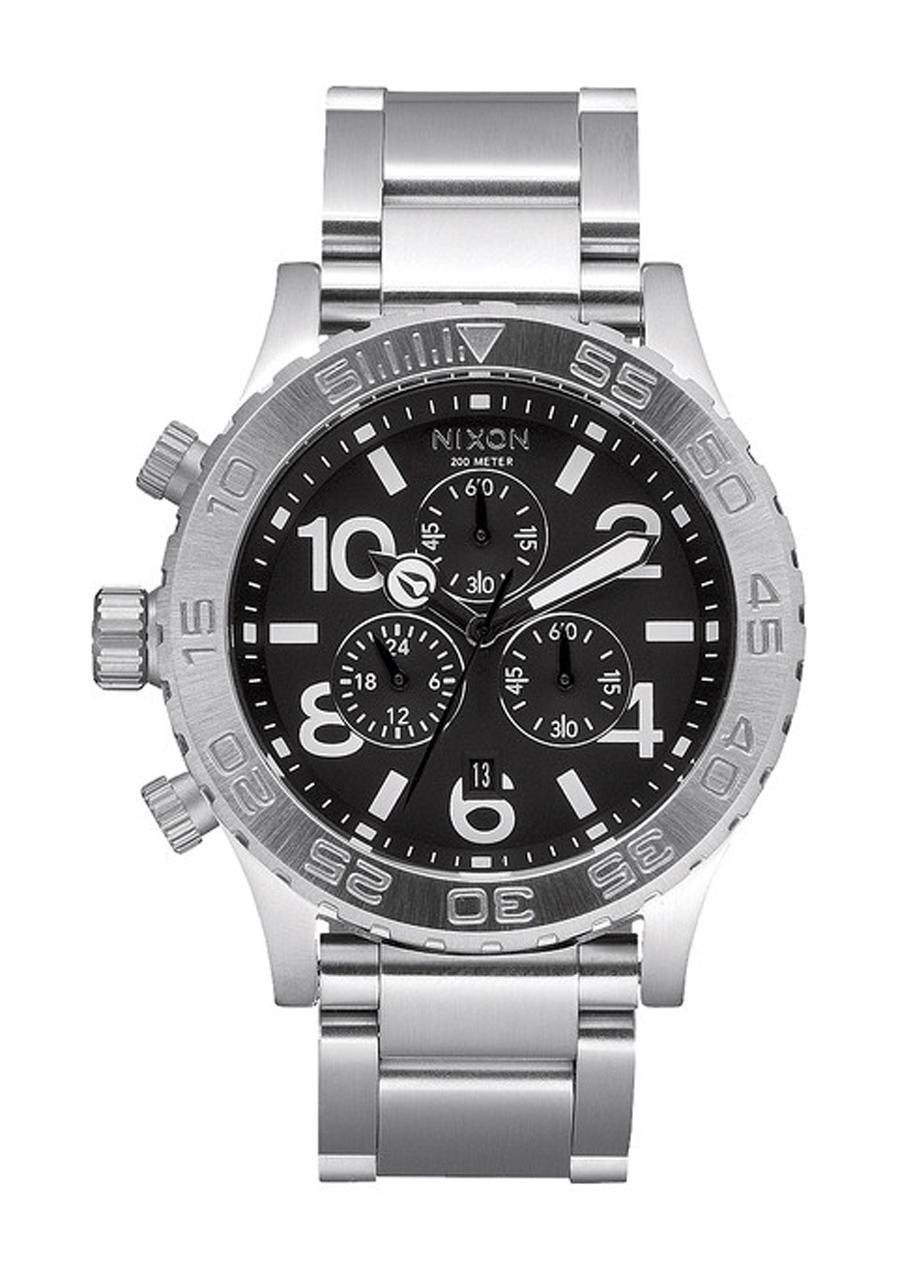 detail Pánské hodinky NIXON 42-20 CHRONO BLACK 52f8fa8ec53