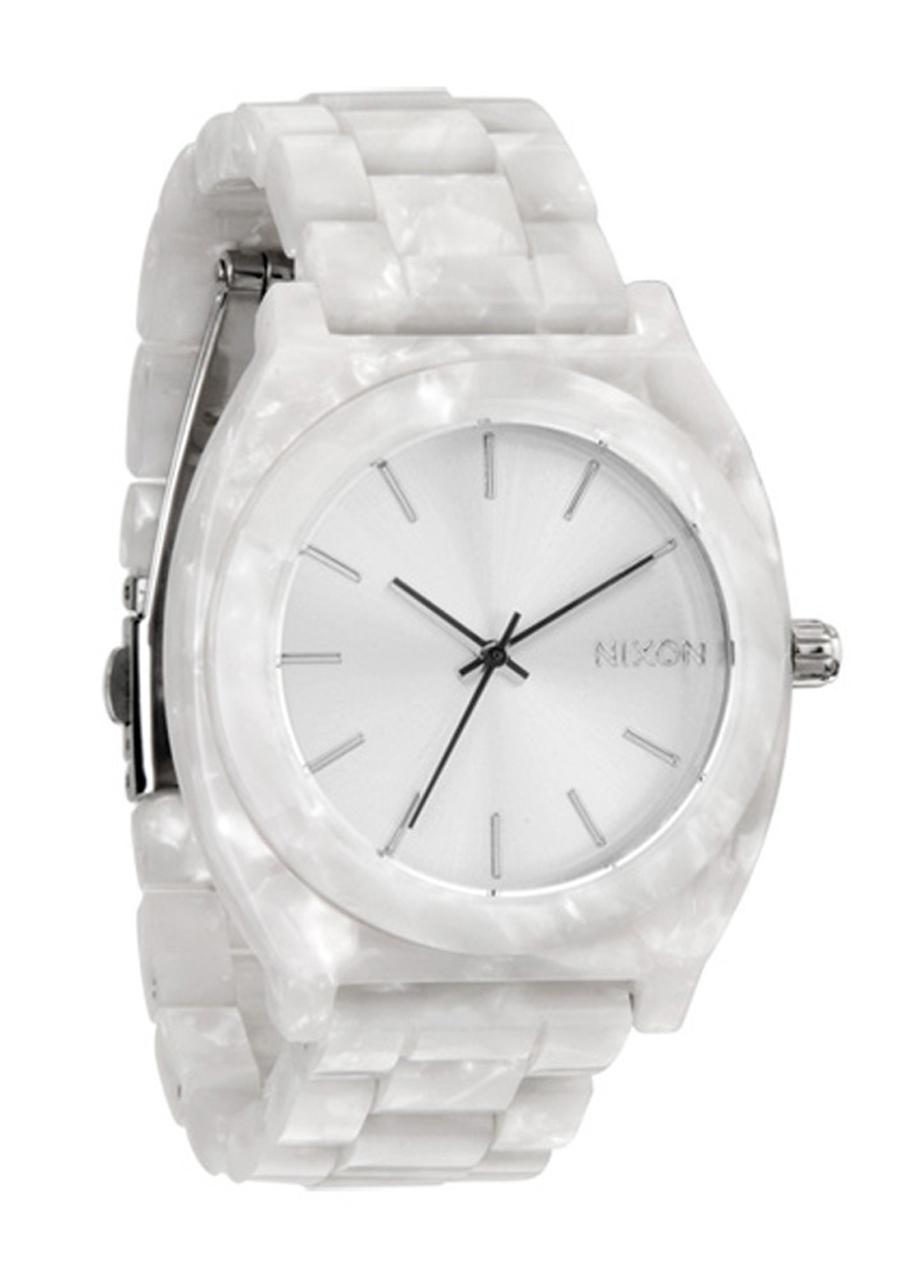 detail Dámské hodinky NIXON TIME TELLER ACETATE bílé b3e5d309d97