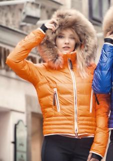 detail Dámská lyžařská bunda Kelly Julia Mandarine 815249f222