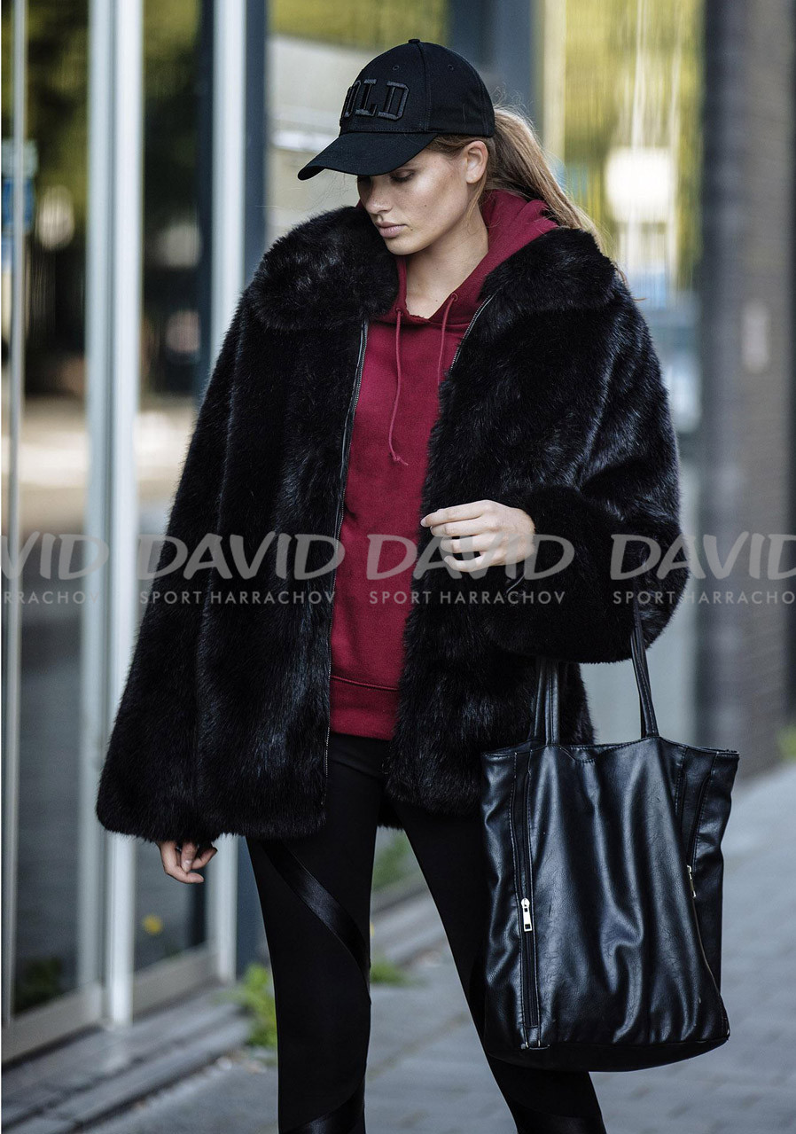 Dámská bunda Goldbergh Orso Jacket (fake Fur With Foam) Black