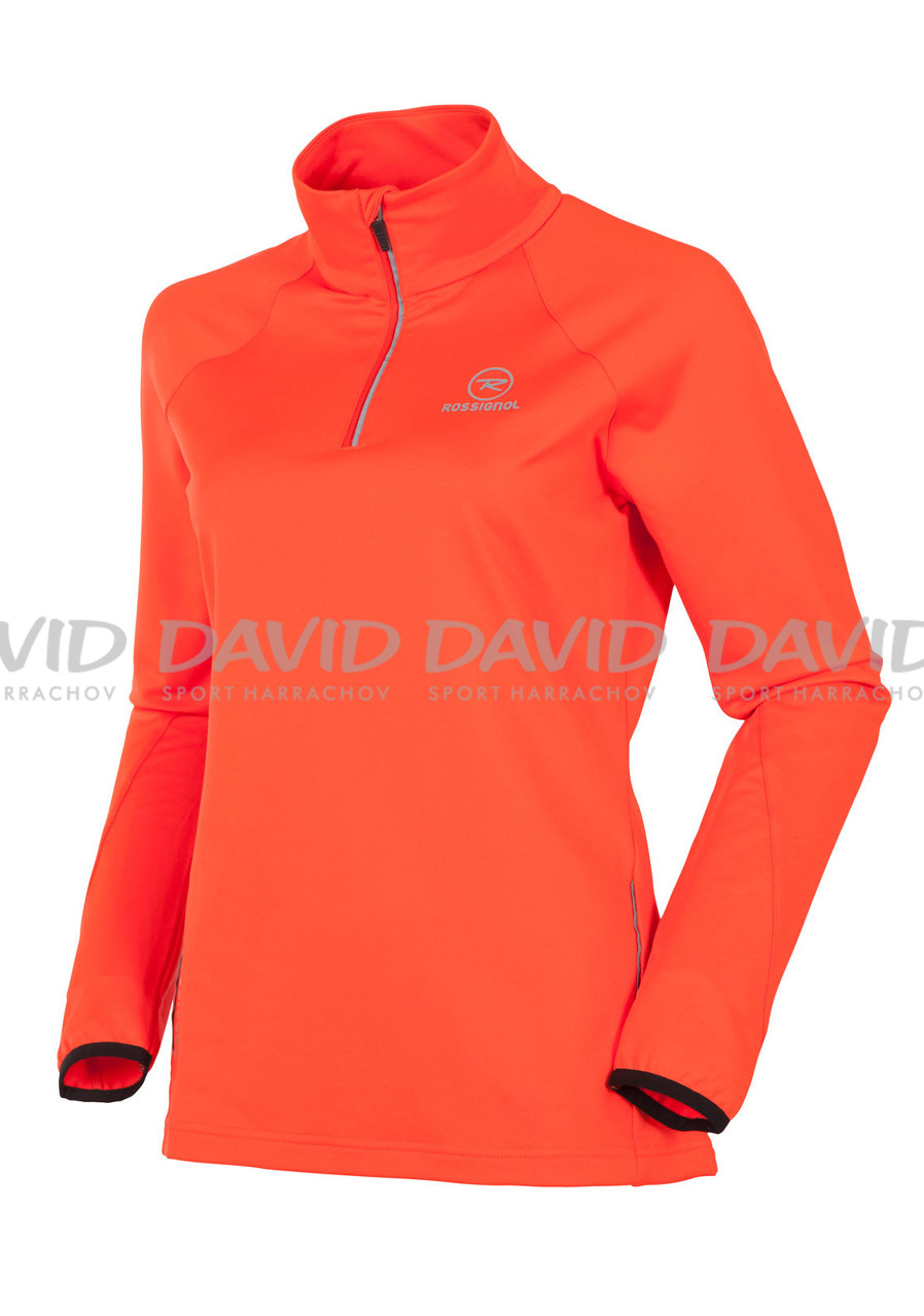 Dámský rolák ROSSIGNOL 15 W WARM STRETCH1/2 ZIP