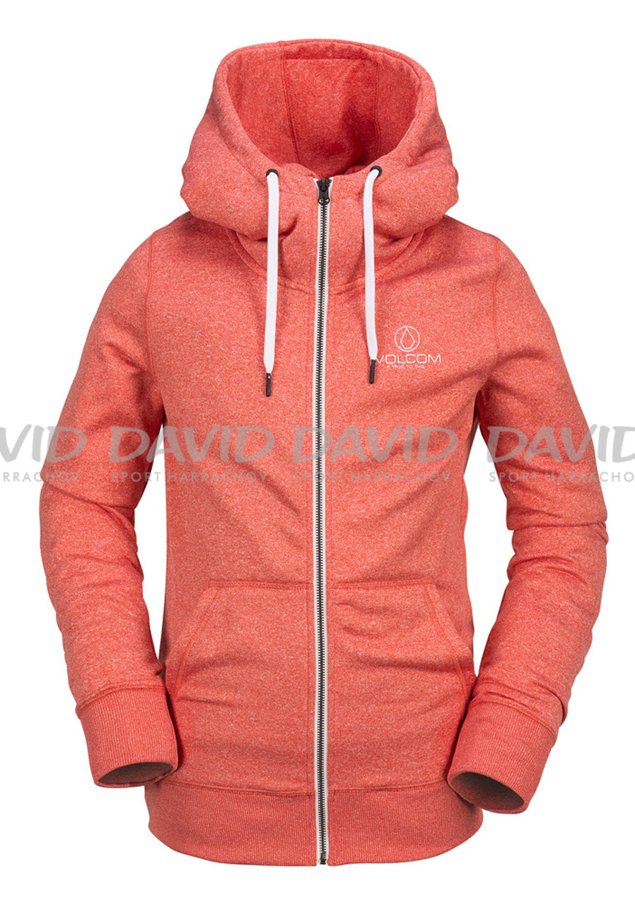 detail VOLCOM CASCARA FLEECE RED