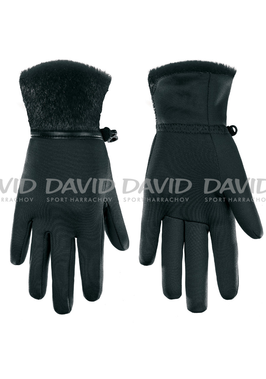 POIVRE BLANC W17-1775-WO/P Stretch Fleece Gloves