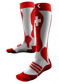 detail Podkolenky X-Socks ski PATRIOT SWISS unisex 8fe6672df9