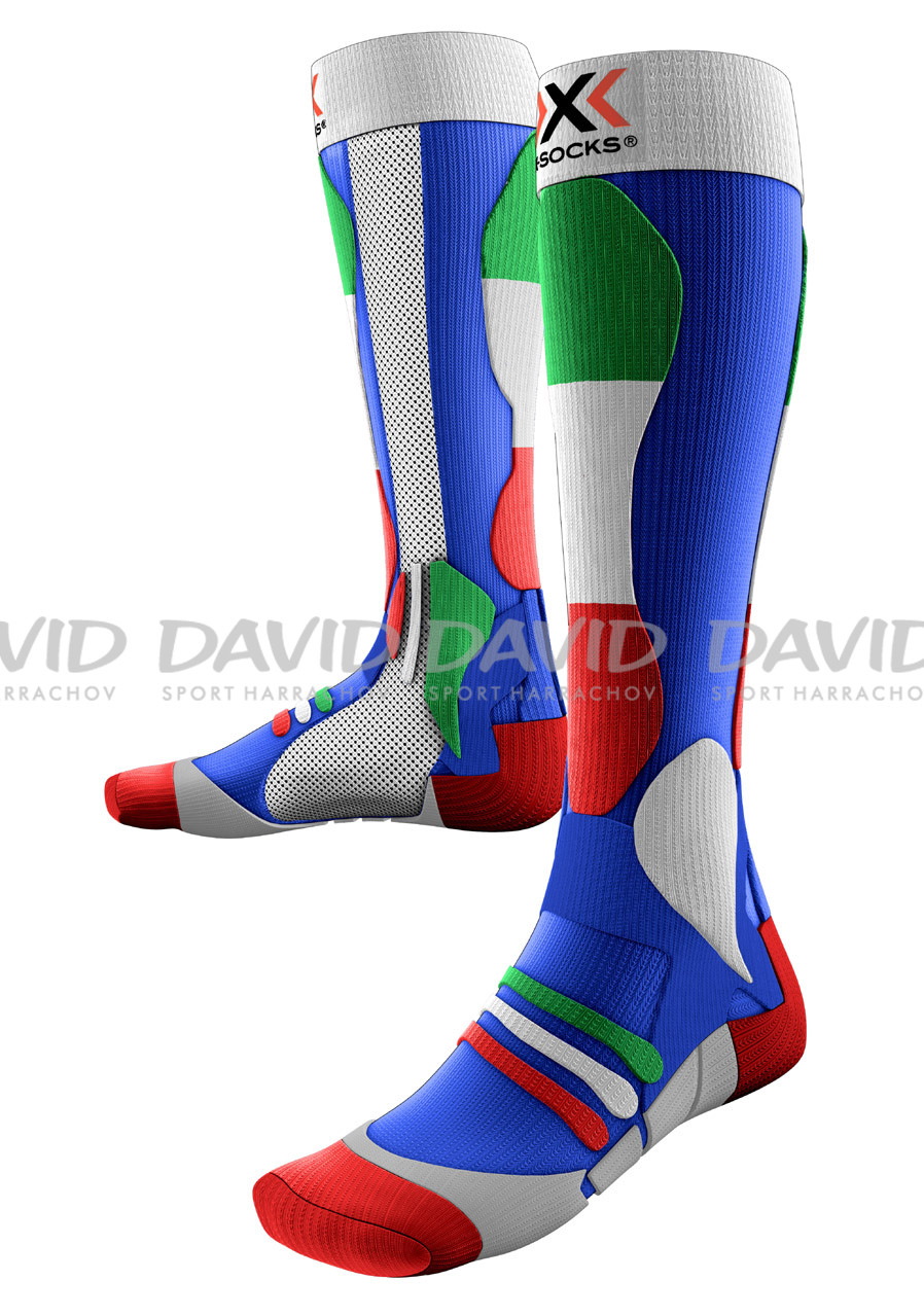 detail X-SOCKS SKI PATRIOT ITALY