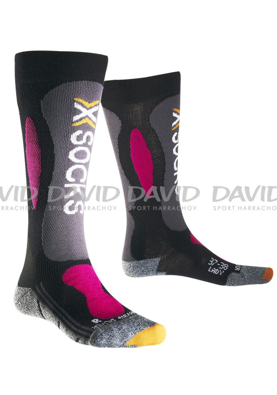 detail X-SOCKS Ski Carving Silver Woman
