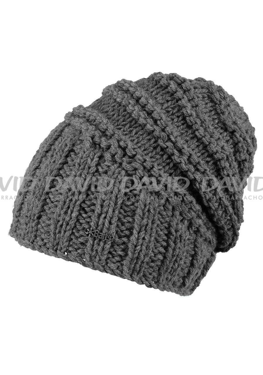 BARTS TAMARA BEANIE DARK HEATHER