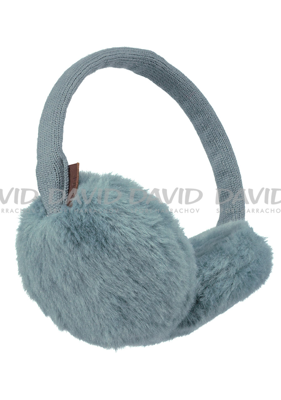 BARTS PLUSH EARMUFFS DARK CELADON