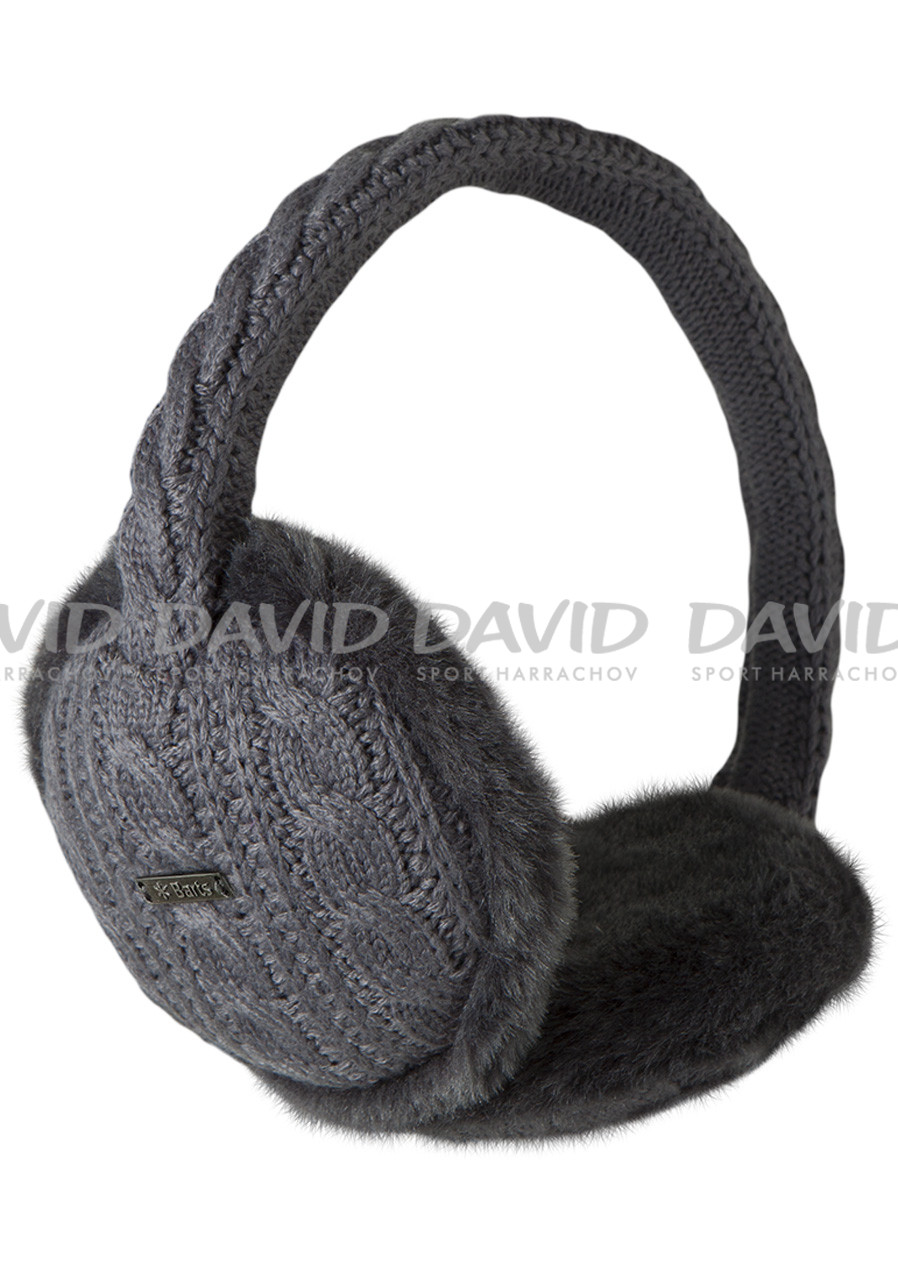 Barts Monique Earmuffs dark heather