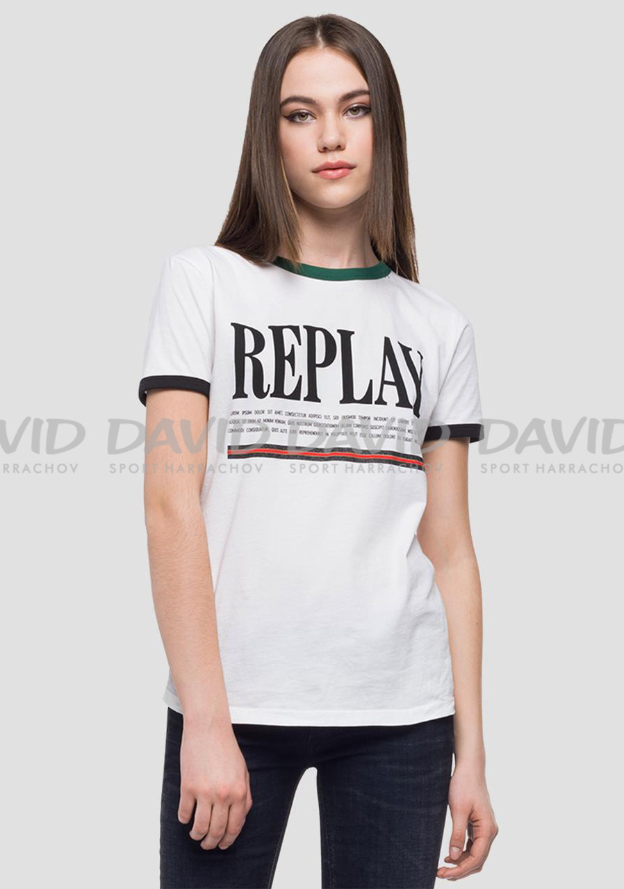 detail Dámské tričko Replay W3122A00022038G 00001 0a4c2f404a