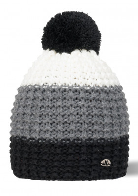 Jail Jam STRIPE BEANIE black