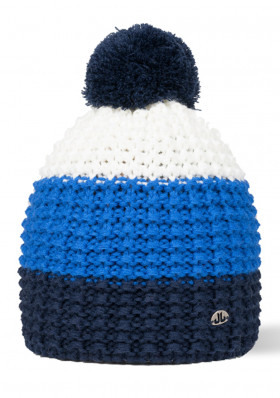 Jail Jam STRIPE BEANIE blue navy