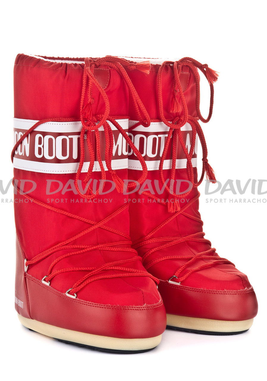 detail TECNICA MOON BOOT NYLON RED