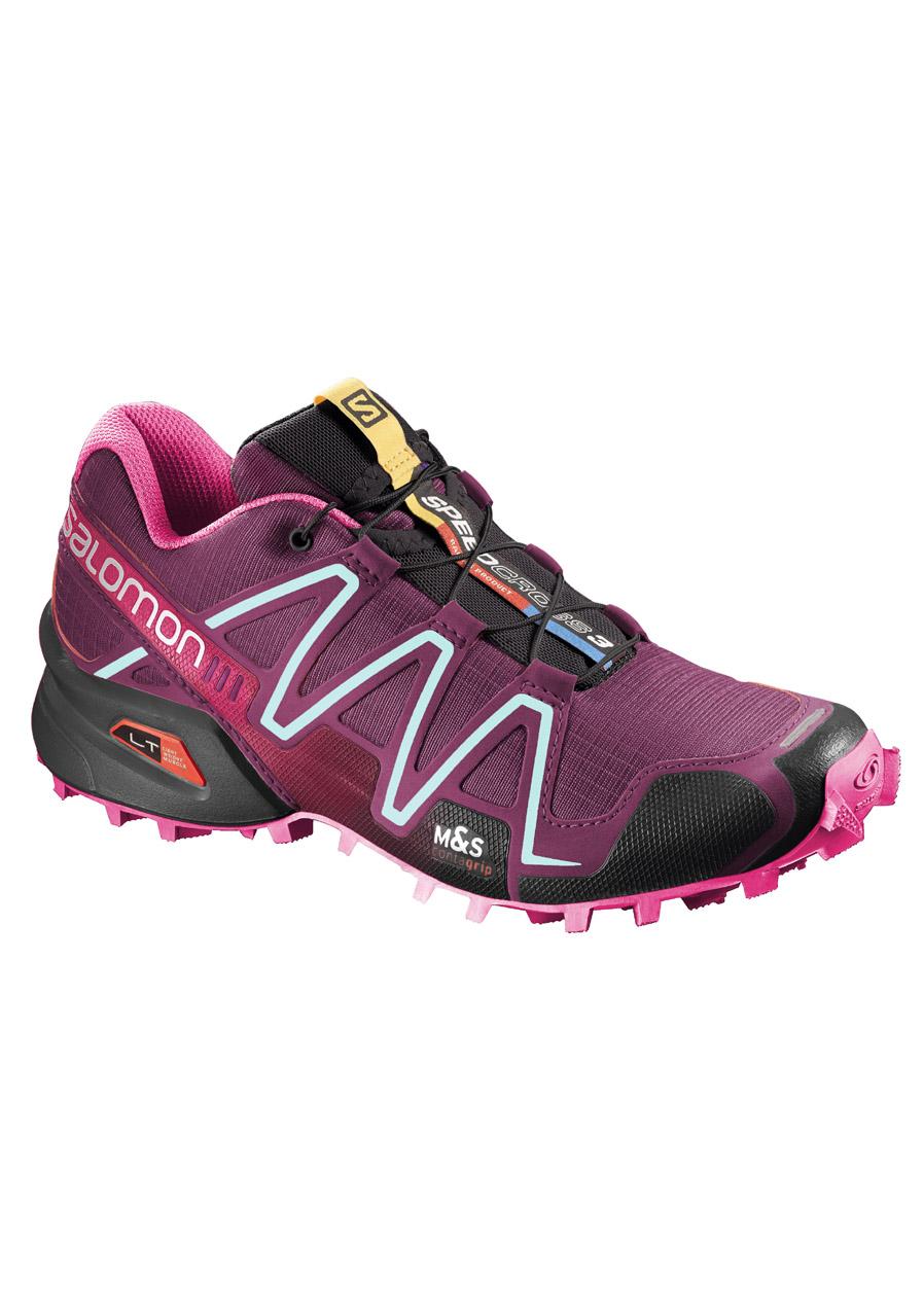 detail Dámské běžecké boty SALOMON SPEEDCROSS 3 Bordeaux 5598094746