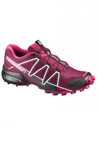 detail Dámské boty SALOMON 17 SPEEDCROSS 4 W TIBETAN RED SANGR 4467a9ab75