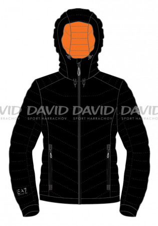 detail Armani 6GPB43 DOWN JACKET BLACK