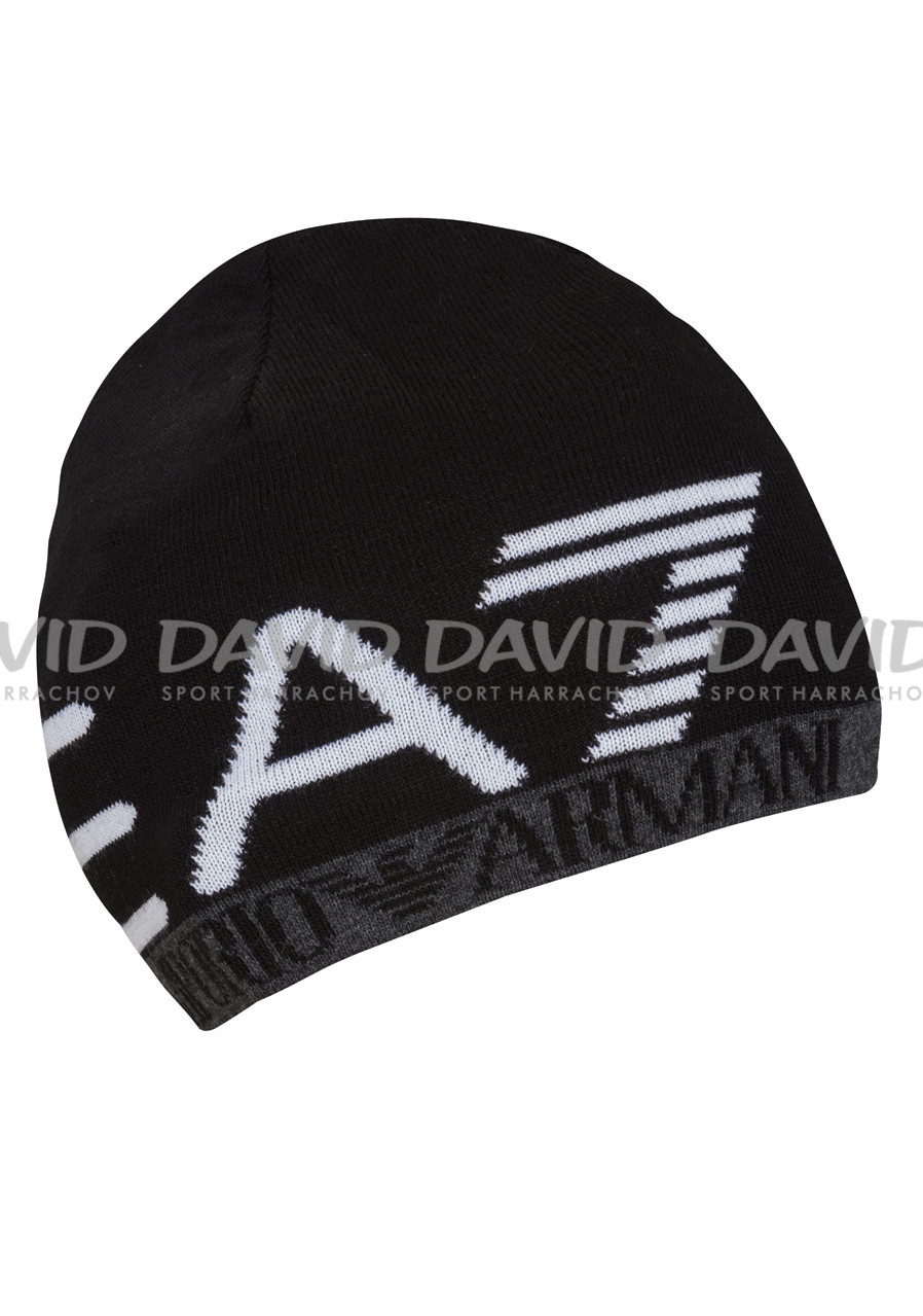 detail ARMANI 275560 BEANIE HAT BLACK