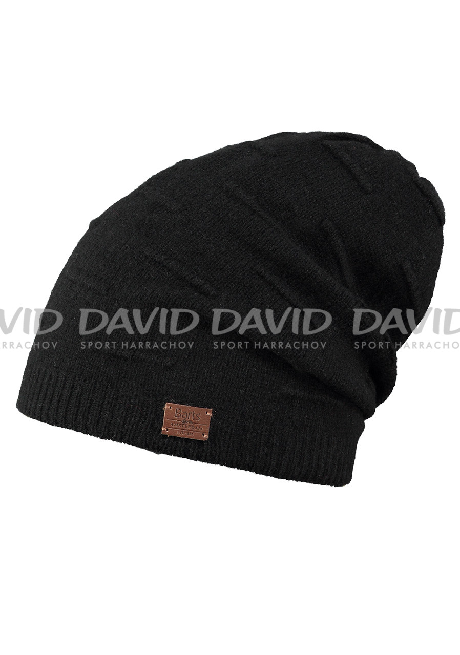 BARTS TIMBER BEANIE BLACK
