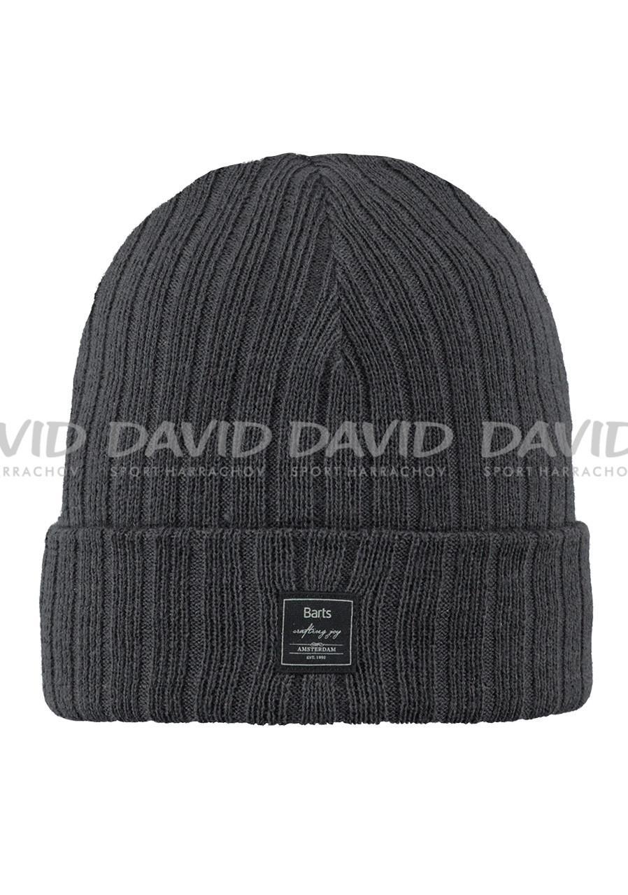 BARTS PARKER BEANIE CHARCOAL