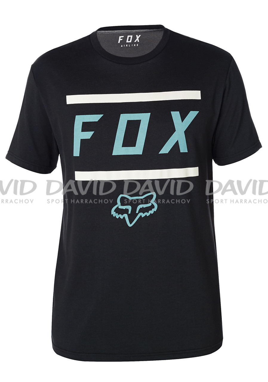Fox Listless Airline SS Tee Black/Grey