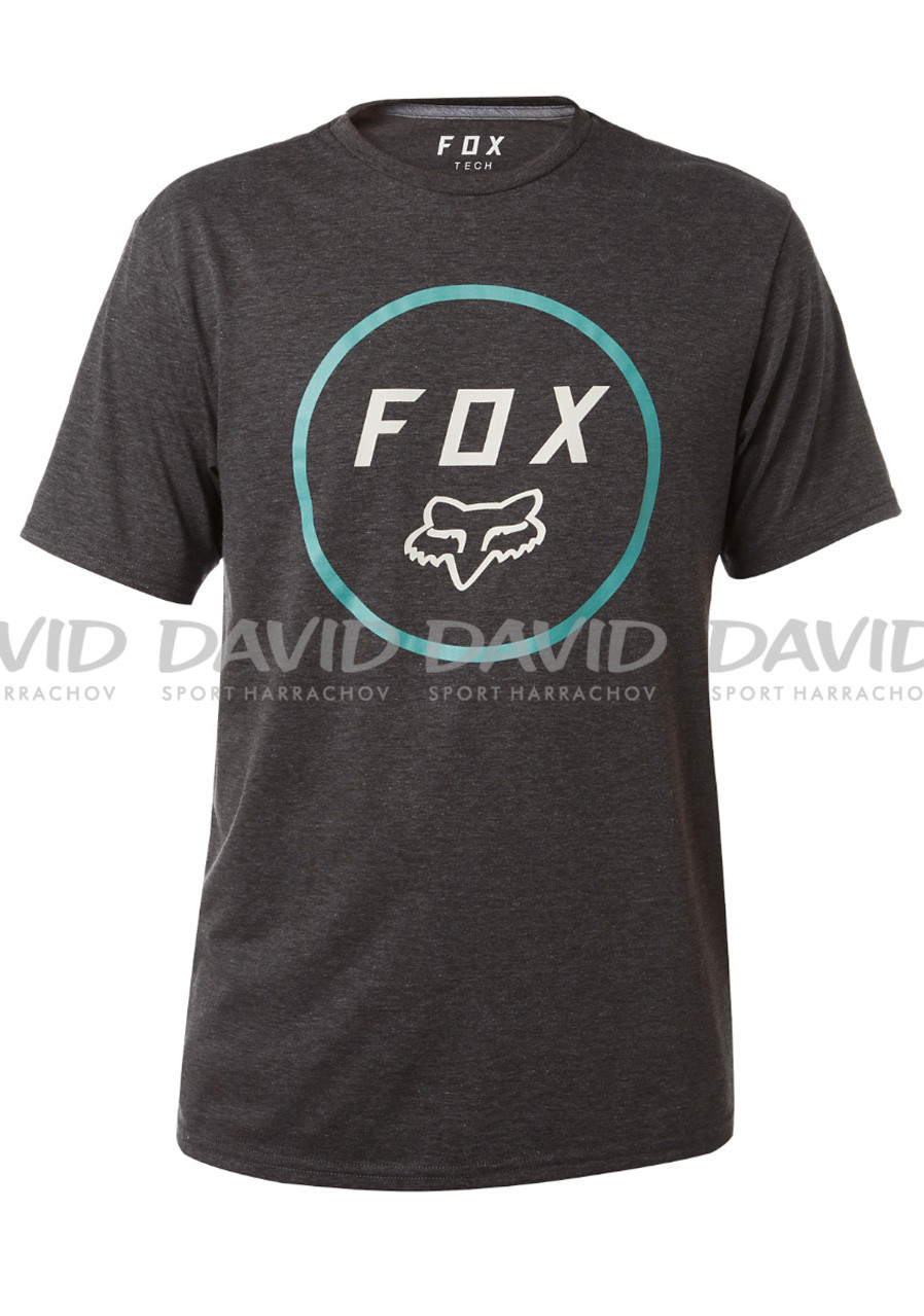 Pánské tričko Fox Settled SS Tech Tee Heather Black