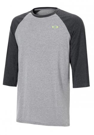 8d9c6757875 detail Pánské triko Oakley So-Dtp Cir Fb Rgln Athletic Heather Grey