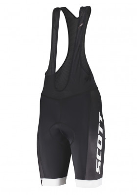 Cyklo kraťasy Scott Bibshorts M's RC Team ++ Black/White