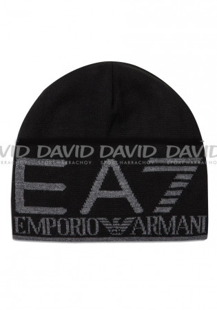 detail Armani 275893 BEANIE HAT BLACK/GREY