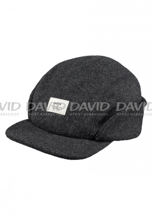 detail Barts Samuen Cap Dark Heather