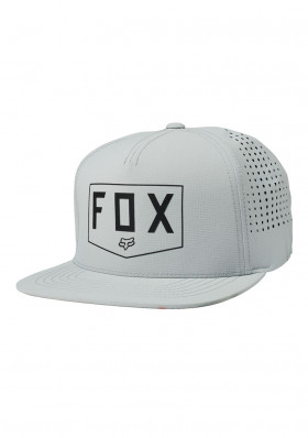 Kšiltovka Fox Shielded Snapback Hat Grey