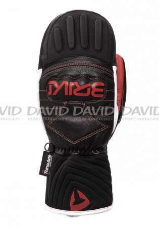 detail Briko Gara Mitt EW Extra Warm Black/Red/White