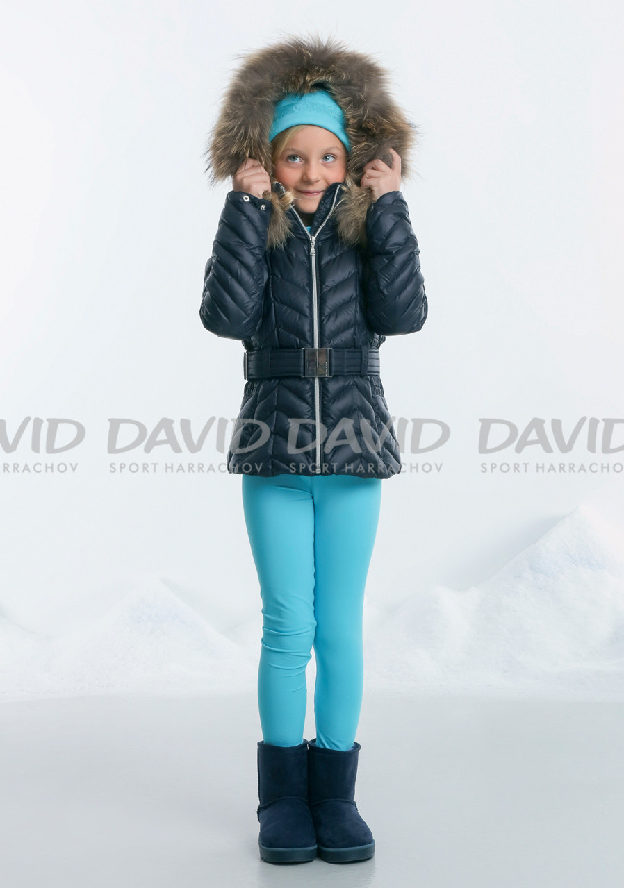 POIVRE BLANC W17-1200-JRGL/B Down Jacket 12-14 BLUE
