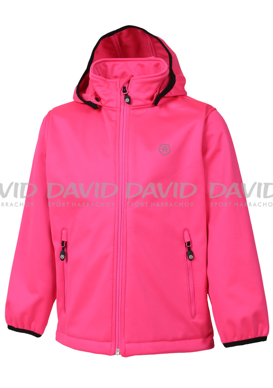 Dětská bunda Color Kids Ralado softshell Candy Pink