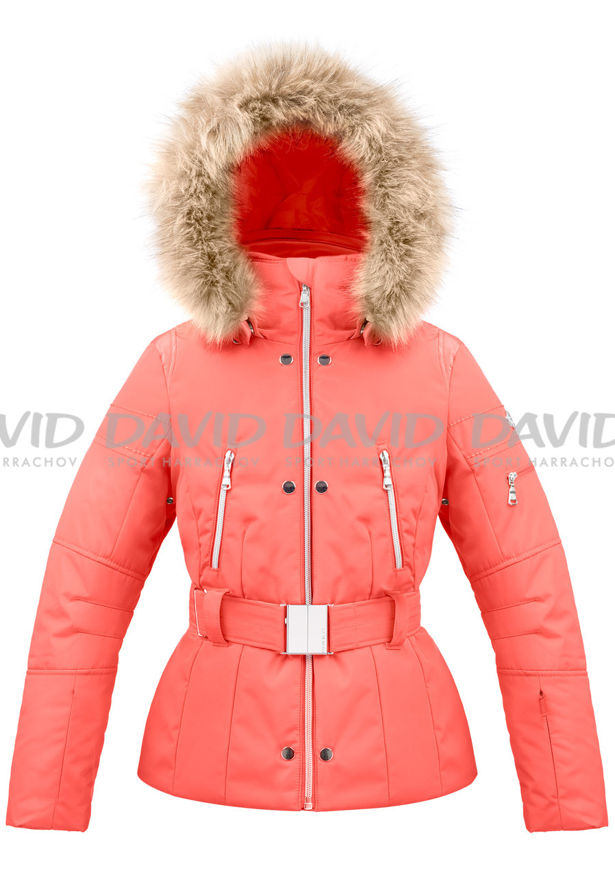 Dětská bunda Poivre Blanc W18-1008-JRGL/A Ski Jacket nectar orange/16 years