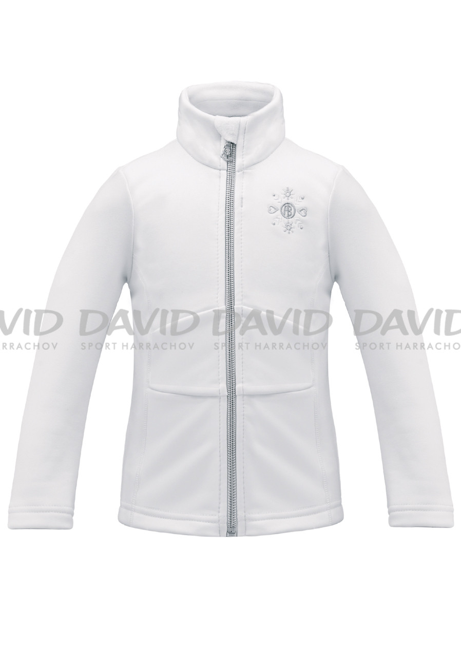 POIVRE BLANC W17-1700-BBGL Stretch Fleece Jacket WHT