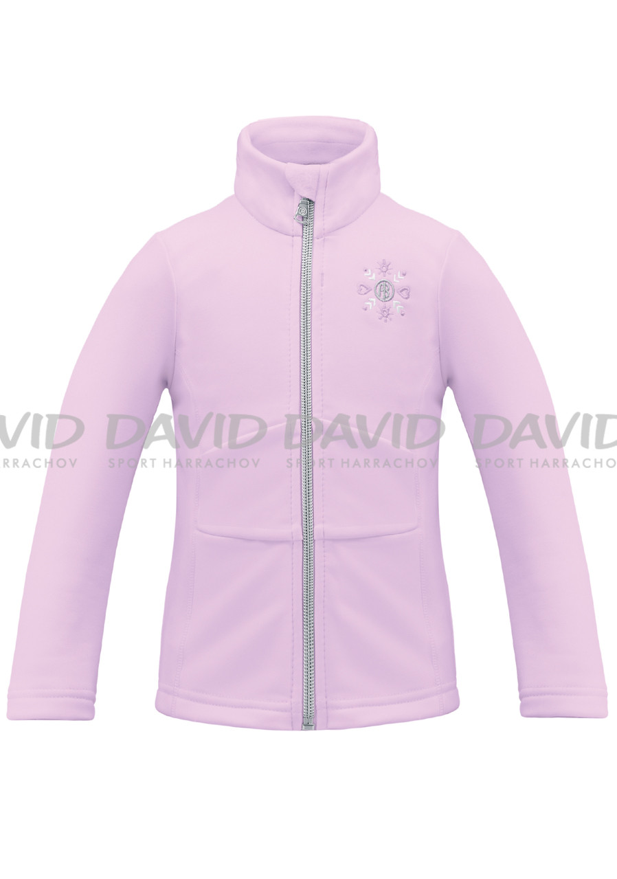 POIVRE BLANC W17-1700-BBGL Stretch Fleece Jacket VIOL
