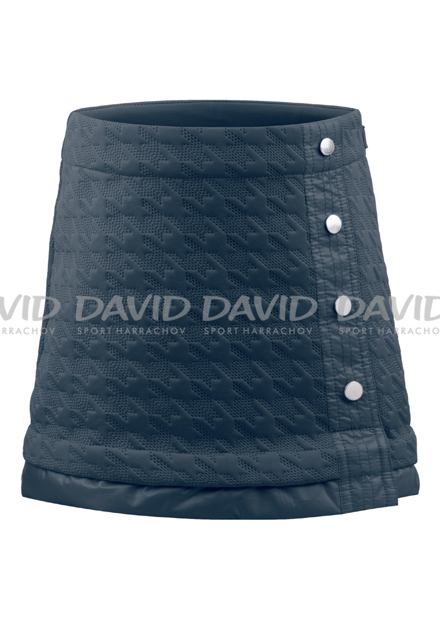 detail POIVRE BLANC W17-1628-JRGL Fleece Skirt BLUE