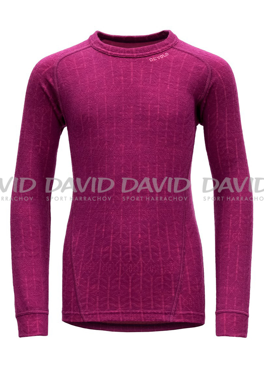 Devold Active Junior Shirt Plum