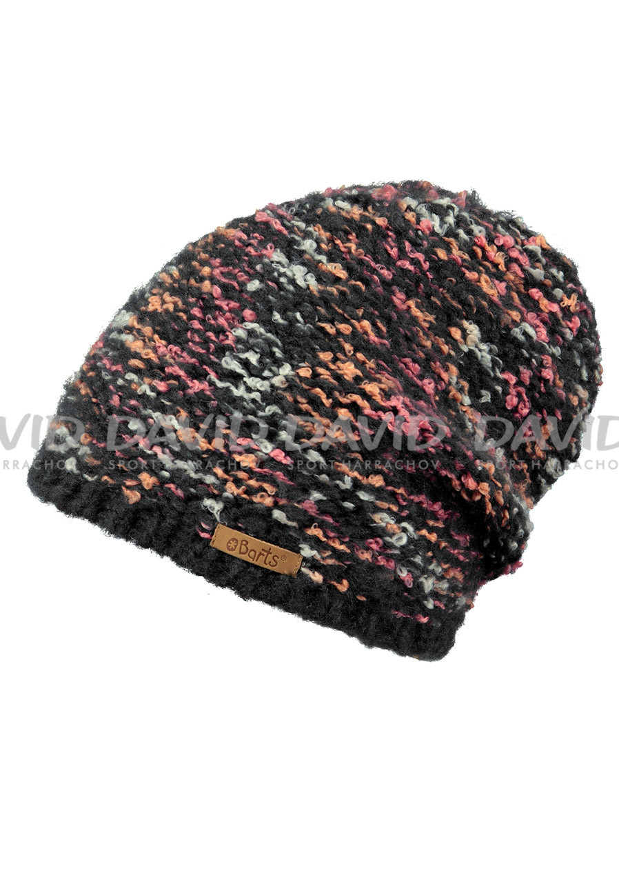BARTS CLOVER BEANIE CHARCOAL