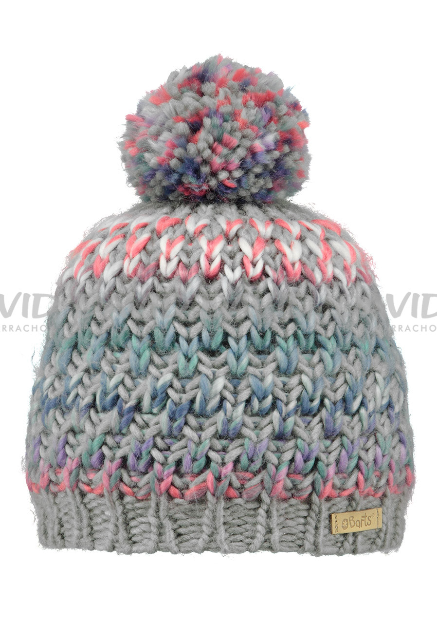 BARTS NICOLE BEANIE GIRLS HEATHER GREY