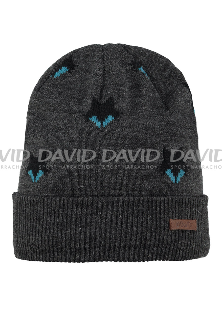 BARTS ULF BEANIE DARK HEATHER