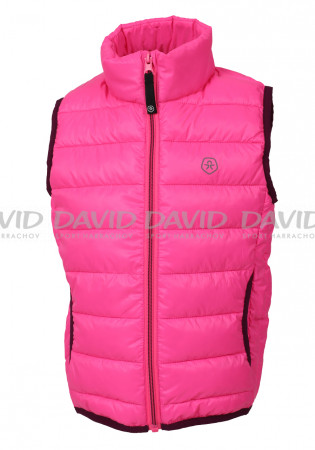 detail Dětská vesta Color Kids Karl padded waistcoat Candy pink