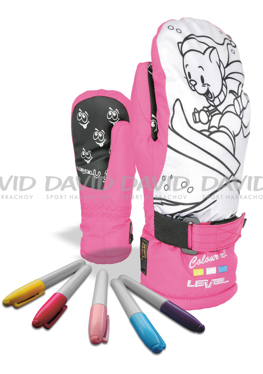 LEVEL POP-ART JR MITT FUCHSIA
