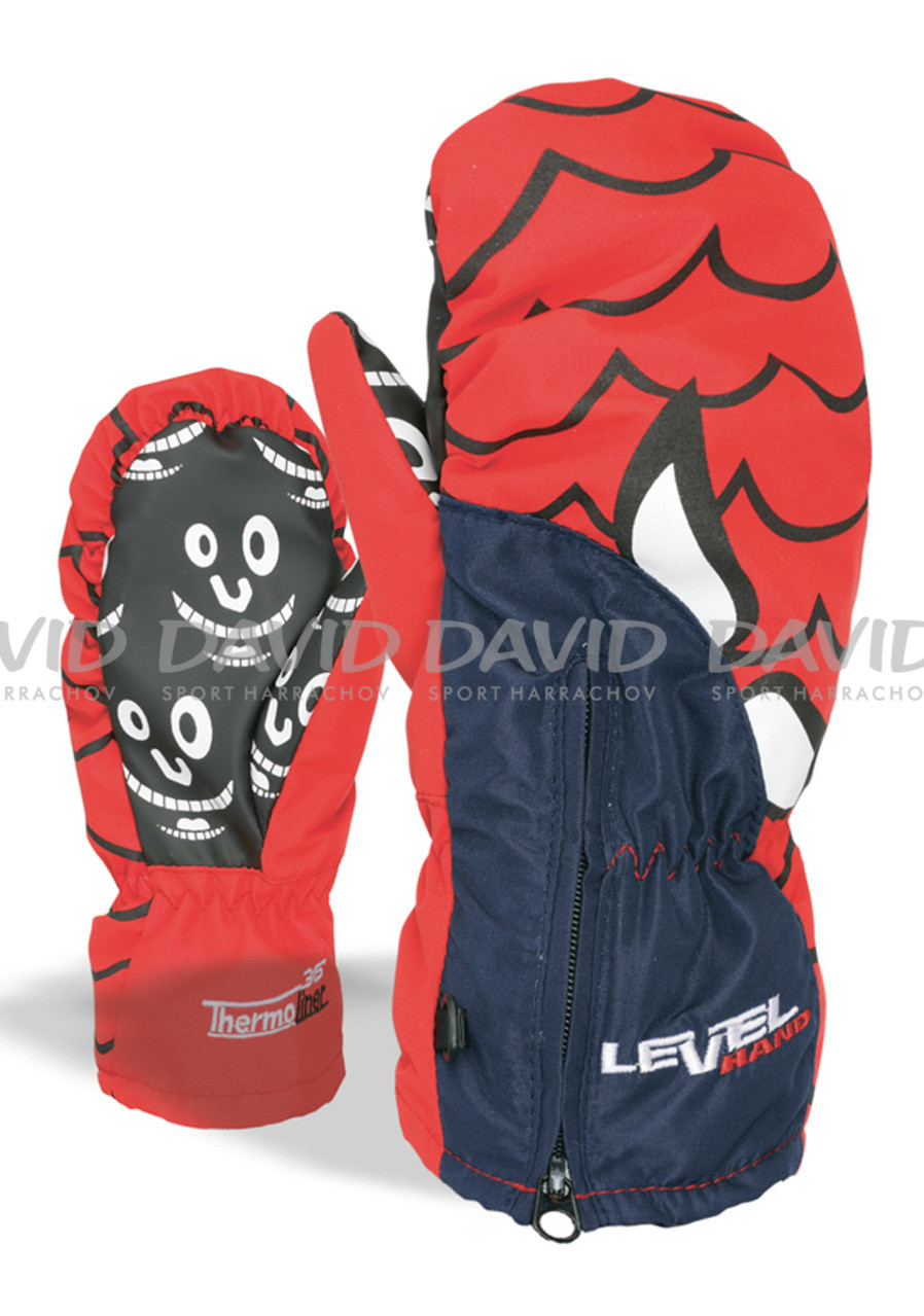 detail LEVEL LUCKY MITT BLUE