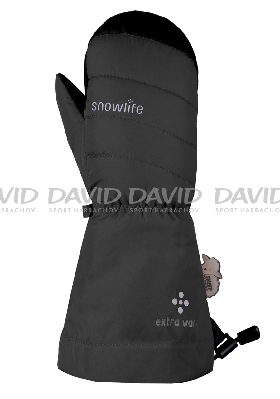 SNOWLIFE SPICE KIDS MITT BLACK