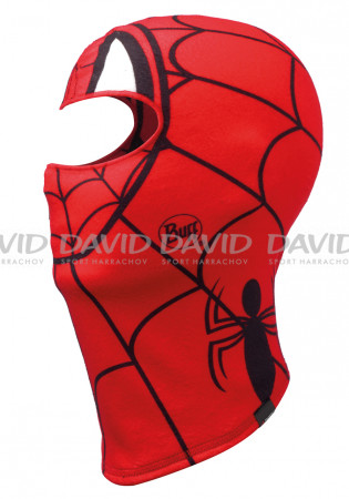 detail Buff 121590 SUPERHEROES POLAR BALACLAVA SPIDERMASK RED