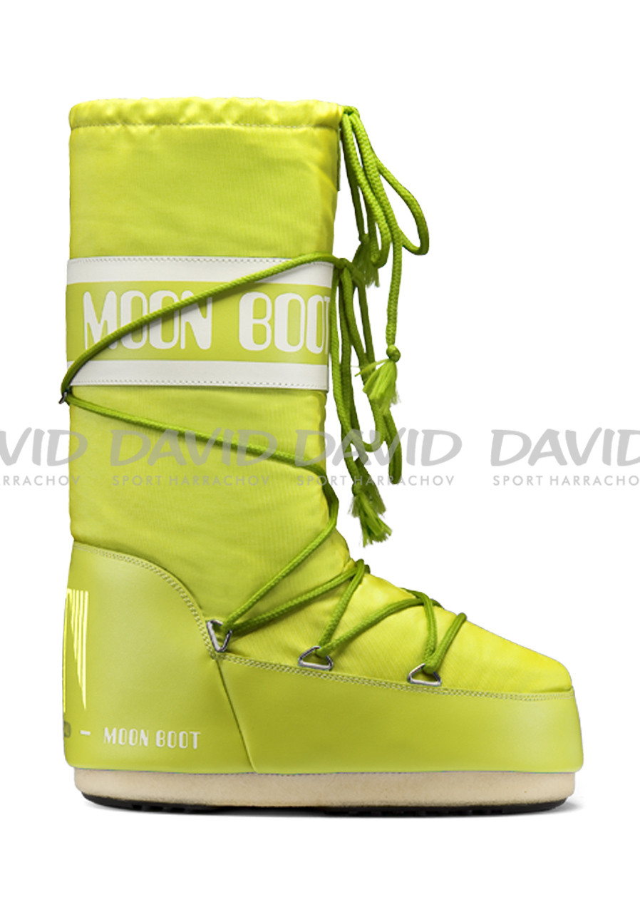 TECNICA MOON BOOT NYLON LIME OBUV