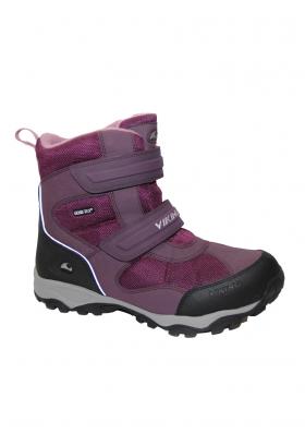 Dětské zimní boty VIKING 79380 BLUSTER PLUM SILV 66f9e75d8f