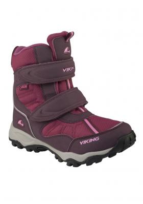 Dětské zimní boty VIKING 82500 BLUSTER AUBER PLUM GoreTex bf10723f42