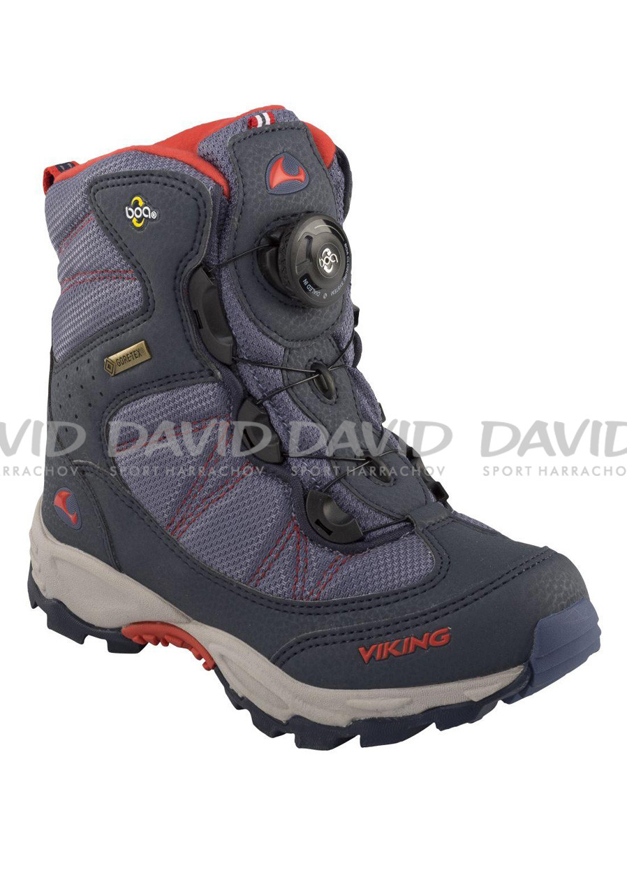 VIKING 82100 BOULDER NAVY/RED